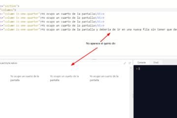Cuadrícula con filas automáticas en CSS - Div no se va a la fila