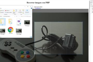 Recortar imagen con PHP y Cropper JS