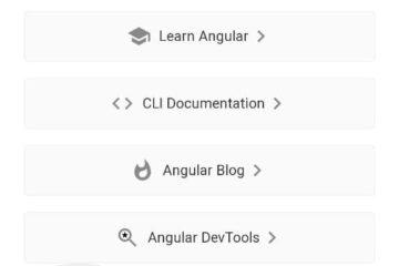 App web de Angular corriendo en el navegador de Android